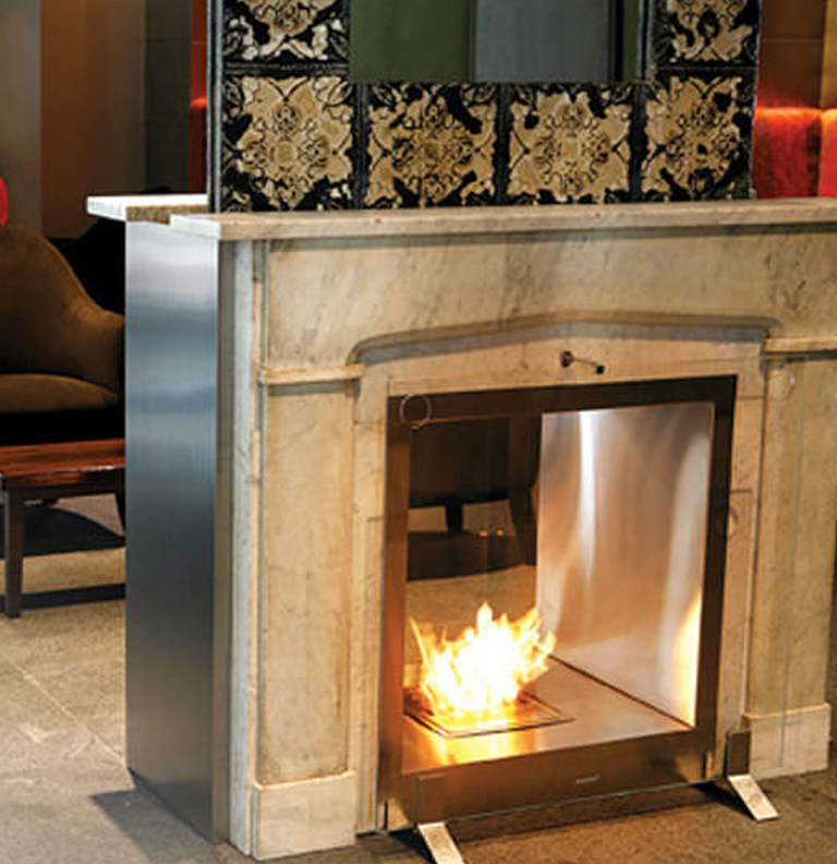 Gallery category eco friendly fireplaces image for Eco friendly fireplace