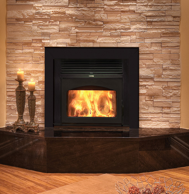 Gallery category fireplace insterts image fireplace for Eco friendly fireplace