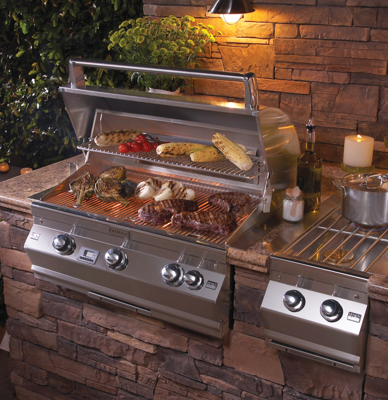 Gallery category grills image outdoor grills for Outdoor kitchen grill insert